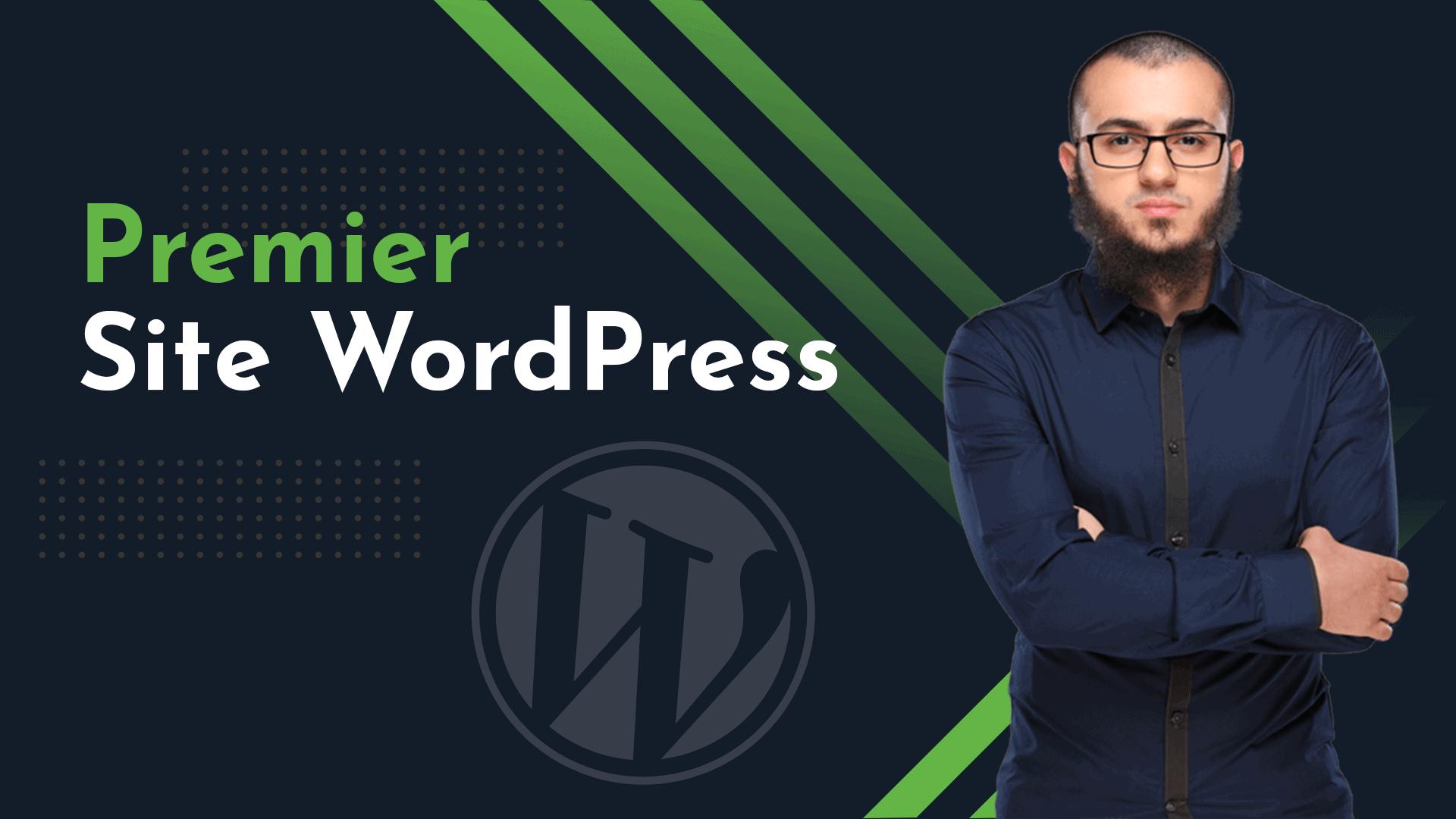 formation gratuite premier site wordpress